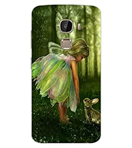 ColourCraft Baby Angel Design Back Case Cover for LeEco Le 2