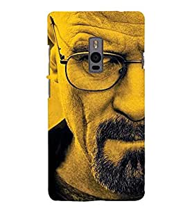 AROGANCE DEPICTED BY AN ANGRY MANS FACE 3D Hard Polycarbonate Designer Back Case Cover for One Plus Two :: One Plus 2 :: One+2 :: OnePlus 2