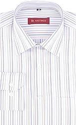 HASTINGS Men's Formal Shirt (V96_40, White, 40)
