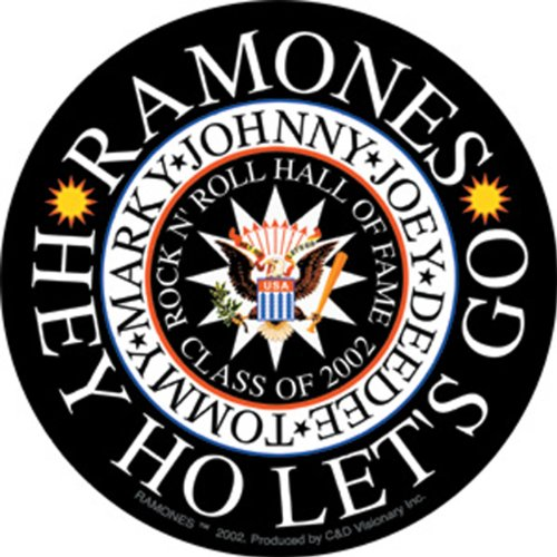 Licenses Products The Ramones Hey Ho Sticker