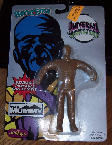 Bend-ems Universal Monsters the Mummy 1990