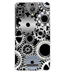 ColourCraft Clock Locks Design Back Case Cover for XIAOMI REDMI NOTE 2