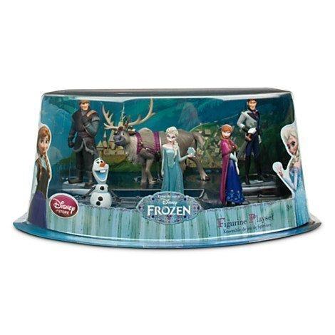 """Set di statuine di """"Frozen - Il regno di ghiaccio"""" (Disney)"""