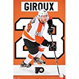 Claude Giroux - Philadelphia Flyers Hockey Poster - 22x34 custom fit with RichAndFramous Black 22 inch Poster Hangers at Amazon.com
