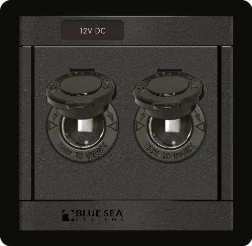 Blue Sea Systems 12 Volt Dc Socket Panel