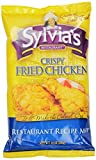 Sylvias Crispy Fried Chicken Mix, 10-Ounce Packages (Pack of 9)