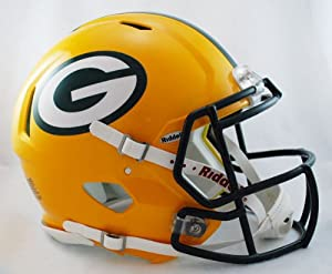 NFL Green Bay Packers Speed Authentic Football Helmet by Riddell