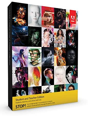 Adobe Creative Suite 6  Master Collection, Student and Teacher Version (PC)