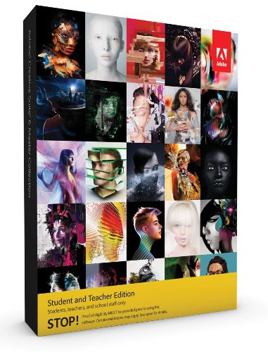Adobe Creative Suite 6  Master Collection, Student and Teacher Version (Mac)