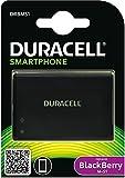 Duracell DRBMS1 Batterie pour BlackBerry Bold 9000/9700/9780 1300 mAh Noir