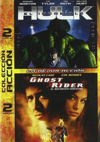 El Increíble Hulk (2008) / Ghost Rider (El Motorista Fantasma) [DVD]