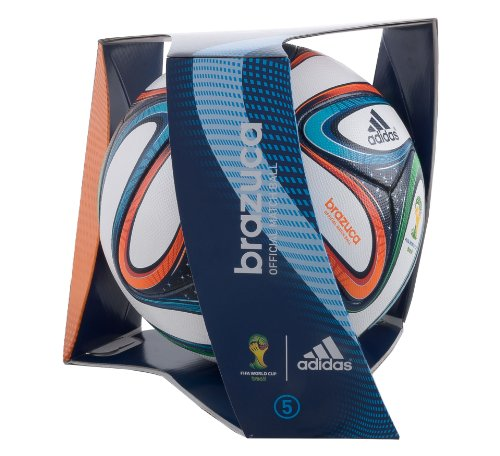 adidas Brazuca FIFA 2014 World Cup Official Match Soccer