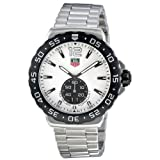 Tag Heuer Formula 1 Grande Date White Dial Stainless Steel Mens Watch WAU1111.BA0858