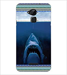 PrintDhaba Creative Image D-3628 Back Case Cover for COOLPAD NOTE 3 LITE (Multi-Coloured)