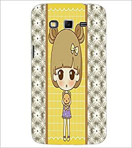 PrintDhaba Cute Doll D-4822 Back Case Cover for SAMSUNG GALAXY GRAND 2 (Multi-Coloured)