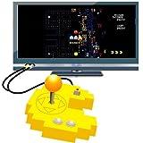 echange, troc Manette 'Pac-Man' Plug & Play (+ 12 jeux d'arcade rétro intégrés)