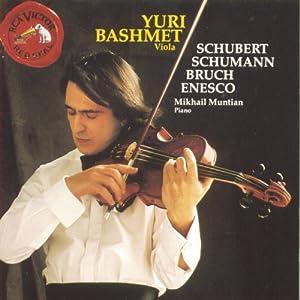 Plays Schubert/Schuman/Bruch/&