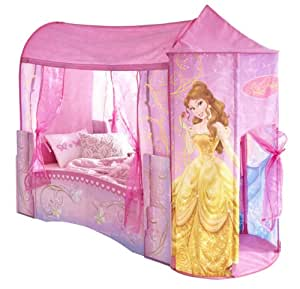 worlds apart 864219 classique lit pour enfant disney princesses en forme de ch teau bois mdf. Black Bedroom Furniture Sets. Home Design Ideas