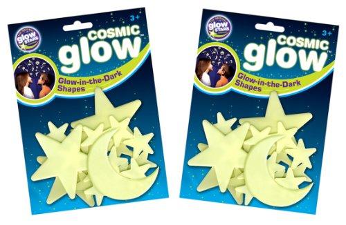 The Original Glowstars Company - Pegatinas para pared y cristal (Brainstorm B8986) [Importado de Inglaterra]