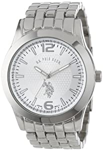 U.S. Polo Assn. Classic Men's USC80022 Analogue Silver Dial Bracelet Watch