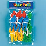 Parachute Toy Paratroopers Army Men - 6 Dozen by USA