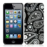 Call Candy Twilight Paisley Fashion Case for iPhone 5S - White/Blackby CallCandy