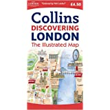Discovering London Illustrated Mapby Collins