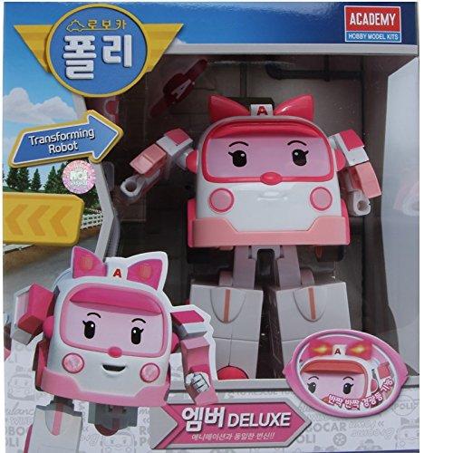 Robocar Poli Deluxe Transformer Toy - Amber - 1