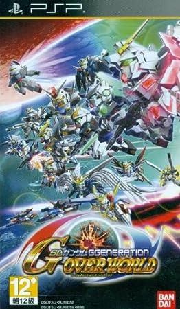 SD Gundam G Generation Overworld (Japanese Language) [Asia Pacific Edition] for Sony PSP