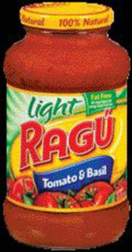 Ragu Light Tomato & Basil Pasta Sauce - 12 Pack (036200004517)