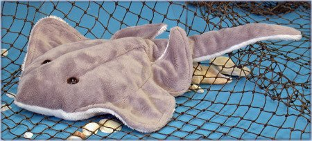"Wishpets 12"" Sting Ray Plush Toy"
