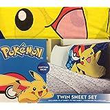 Pokemon 3 Piece Twin Sheet Set
