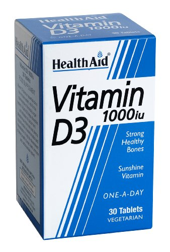 HealthAid Vitamin D 1000iu - 30 Tablets
