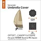 Classic Accessories 73152 Veranda Patio Offset Umbrella & Frame Cover