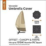 Classic Accessories 73152 Veranda Patio Offset Umbrella & Frame Cover
