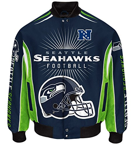 Seattle-Seahawks-Mens-NFL-G-III-Burst-Premium-Twill-Jacket