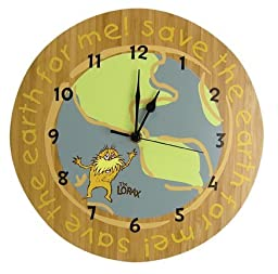 Dr. Seuss the Lorax Clock