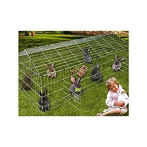 Parc à lapin ou rongueur avec protection contre soleil