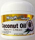 Mason Naturals Coconut Oil Beauty Cream 2 oz. per Jar