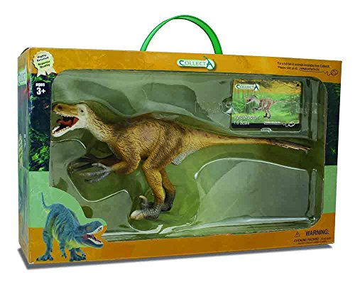CollectA Velociraptor Toy in Window Box