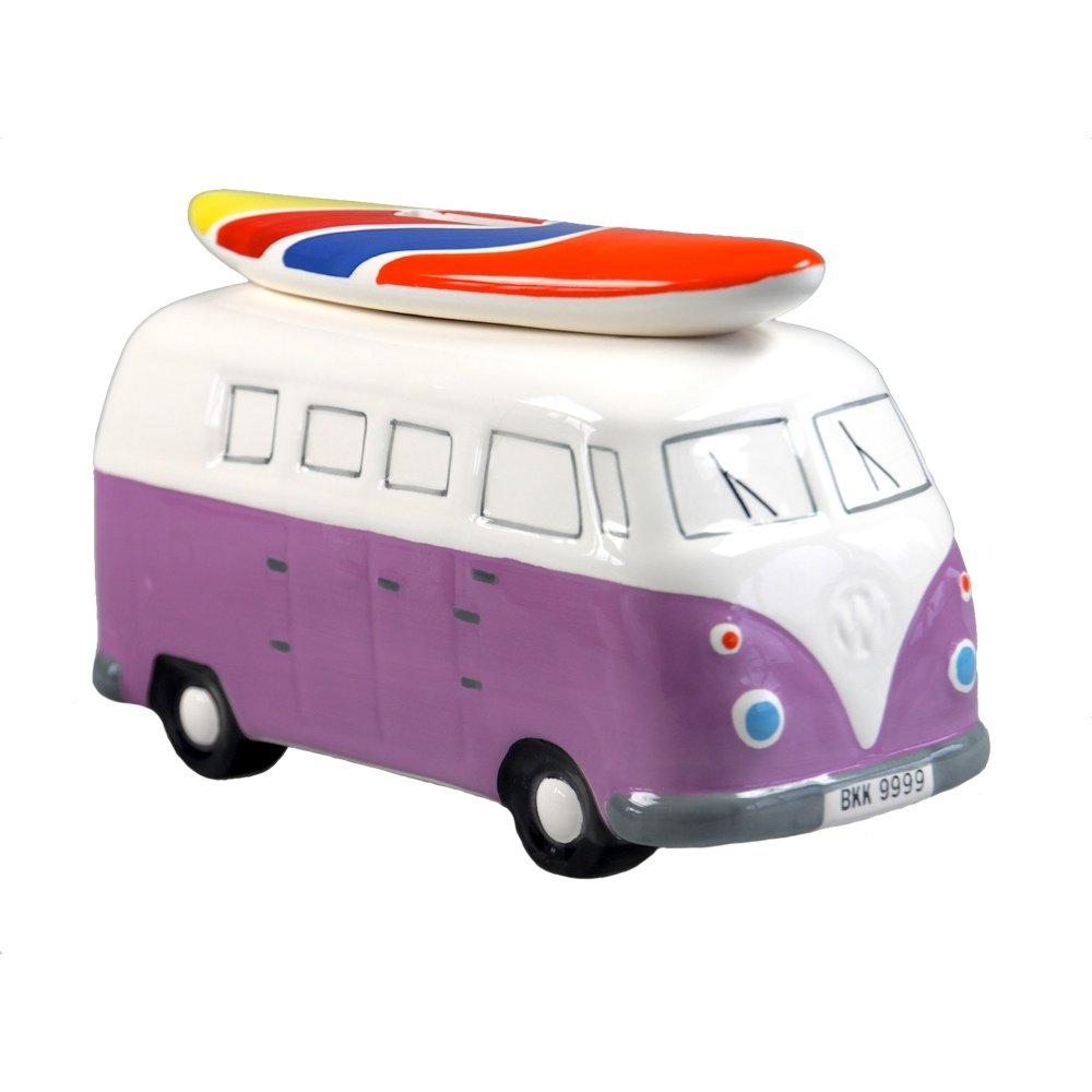 Hucha Bus Retro (violeta)   Comentarios de clientes y más información