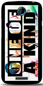 Snoogg One Of A Kind Designer Protective Back Case Cover For HTC One S