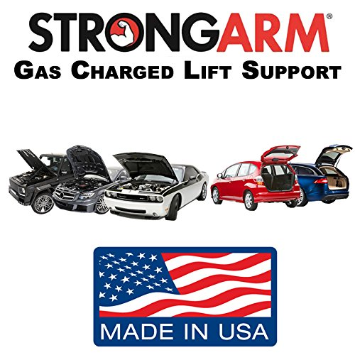 Qty (2)StrongArm 6172 Mitsubishi Eclipse 2006 To 2012 Rear Hatch Lift Supports (2 door Coupe Only) (Mitsubishi Eclipse Gas Cover compare prices)