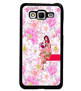 PrintDhaba Sweet Girl D-2962 Back Case Cover for SAMSUNG GALAXY GRAND PRIME (Multi-Coloured)