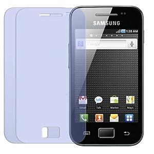 2 X iprotect ORIGINAL Displayschutzfolie für das Samsung Galaxy Ace S5830 Displayschutz CrystalClear Displayschutzfolie Schutzfolie Markenqualität Displayschutz unsichtbar