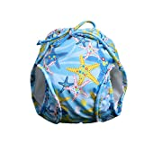 Vine Bebé Pañales bañadores Ajustable Bañador Pañal de Tela Reutilizable Lavable Diaper Para Blue 3