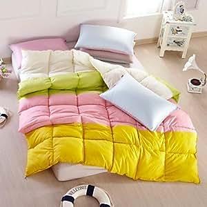 100 daunen einzelbett 173 x 218 cm doppelbett 200 x 230 cm queen 224 x 234 cm einzelbett. Black Bedroom Furniture Sets. Home Design Ideas