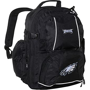 Concept One Philadelphia Eagles Trooper Backpack by Hall of Fame Memorabilia
