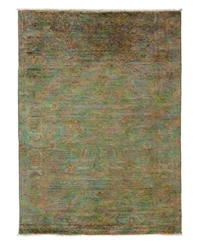 Darya Rugs Transitional Oriental Rug, Silver, 6' 8 x 4' 10