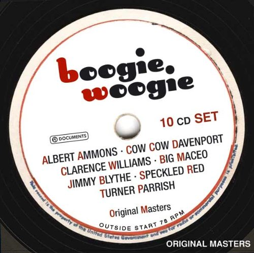 Boogie Woogie by Albert Ammons, Angela Meluso, Clarence Williams, Cow Cow Davenport and Big Maceo